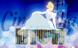 Cinderella Wallpaper by Alce1977