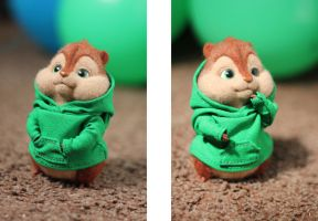 Yet another Chipmunk Theodore :) by Irentoys