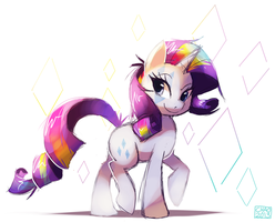 Rainbow Rocks - Rarity by ChocoChaoFun