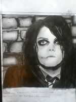 Gerard way full shot by mcrdemolitionlover