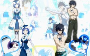 Gruvia Wallpaper by xXmariisa23Xx