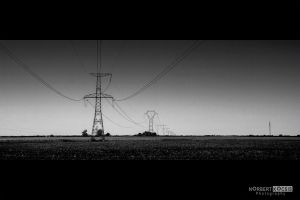 High Tension on the Landscape II by NorbertKocsis