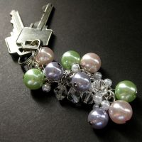 Blowing Bubbles Key Charm by Gilliauna