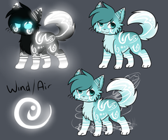 Wind/Air Adoptable Auction :CLOSED: by Darkaiya