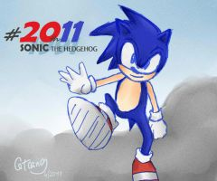 Twenty years of Sonic by Chaybie