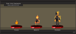 Fire Starter Fakemon by Immonia