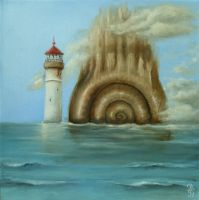 The Lighthouse by paulee1