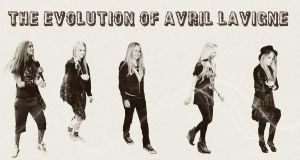 The Evolution of Avril by xxAvrilrocks