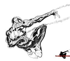 Amazing SpiderMan by Saulinhio