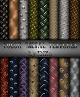 Color Metal Textures by DiZa-74