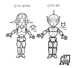 Circ-et and Circ-ette by Vol-chan