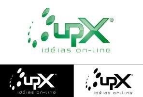 Logo - UpX by juliomolina