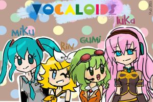 Vocaloids by puteriemily
