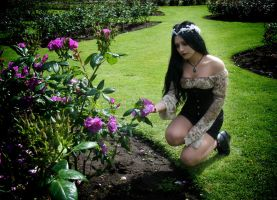 Gothic Garden - Sing Me To Sleep by Mahafsoun