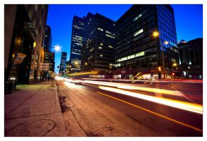 Montreal at Night 86 by Pathethic