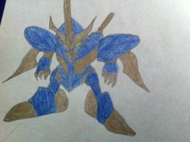 Anime Manga Robot Warrior by TheLordandtheRing