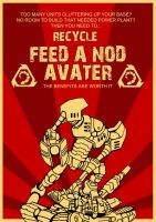 Feed Nod Avaters by Adder24