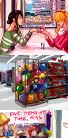 Straw Hat Family Goes Shopping by CodeNameZimbabwe