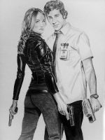 Chuck and Sarah by FilipeMarcelo