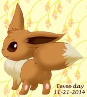 Eevee Day '14 by pichu90