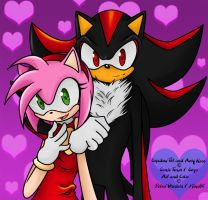 Shadow x Amy -Contest- by Miha85