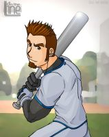 Baseball Mike by Sarumaru