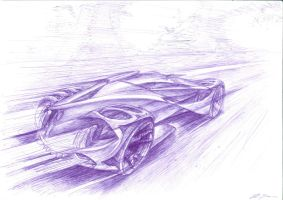 G D Supercar nr. 7 - with pen by grote-design