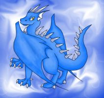 Santol The Blue Dragon by Articuno