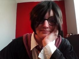 Harry Potter Crossplay for Halloween by WildHeart1125