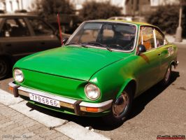 Green Skoda by PaSt1978
