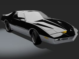 Knight Rider Trans Am - KARR by wannabegeorge