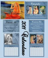 2011 Calendars Katerinaart by Katerina-Art
