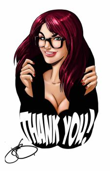 THANK YOU by JenBroomall