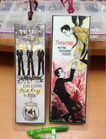 Supernatural Bookmarks by A-Fearsome-Artisan