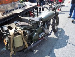 A World War Two Motorcycle Still Going Strong by Brooklyn47