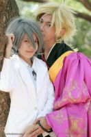 Brothers Conflict Asahina kaname and iori by karlonne
