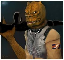 Bossk by Step-hen1901