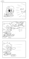 pony comic 1 : Accident [shy@dash] by kyodashiro