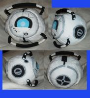 Wheatley Plush by DonutTyphoon