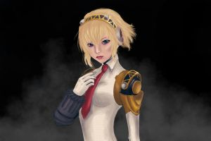 Beautiful mysterious Aigis by vanllem