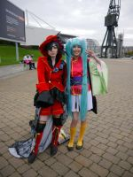 Ciel and Sasami MCM Oct '12 by KaniKaniza