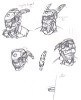 Briareos 'Expressions' Practice by ConstantM0tion