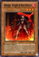 Mikage, Knight of the Inferno by deathchaosgreymon