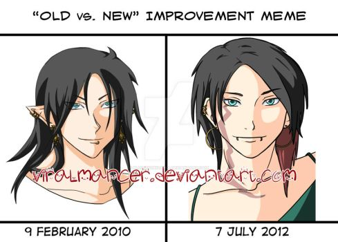 Old vs. New Improvement Meme by bloodycnidaria