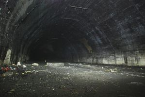 old tunnel by MouseClock