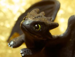 Toothless Close-up by SovaeArt