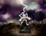 Thunder Mage by Iury-max