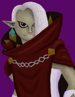 demon lord ghirahim by Link-of-the-twilight