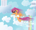 Cloud Scooting by Supersheep64