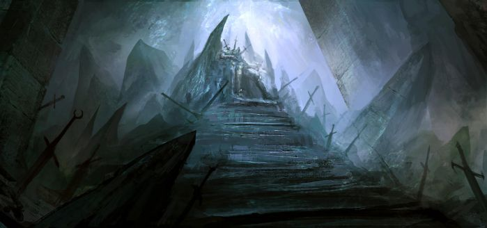 The ice couch, throne of the headless king by theDURRRRIAN